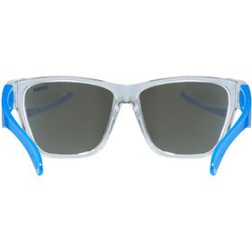 UVEX Sportstyle 508 Lunettes de sport Enfant, clear blue/blue